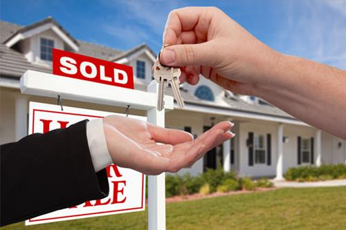 Handing Over Keys to Home Buyers