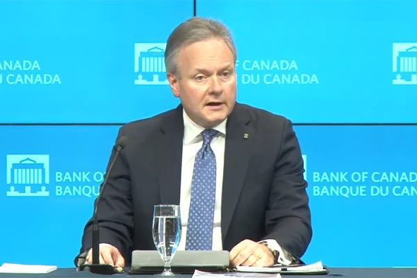 Bank of Canada's Poloz says stimulative rates needed for temporary soft patch